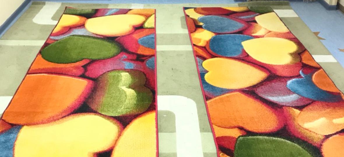 Чистка ковров в цеху